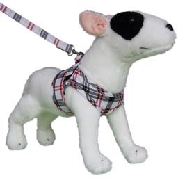 Hundesele Comfy Sele Design Scottish White